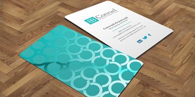 UV Spot Luxury Business Card
